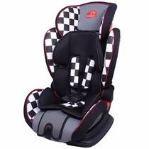 Cadeira Para Auto Top 9 A 36 Kg - Xadrez - Dardara