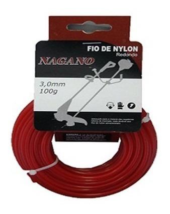 Bobina De Fio De Nylon Redondo 1.6 Mm 100 Gramas - Para R