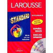 Diccionario Standard Inglés / Español C/cd De Larousse