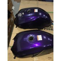 Tanque Yamaha Ybr Factor Roxo Para Recuperar Novo Original
