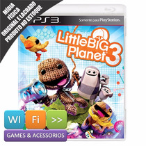 Little Big Planet 3 Ps3 Português Mídia Física + Brinde