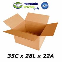 25 Caixas De Papelão 35 X 28 X 22 Tipo 4 Correio Pac Sedex