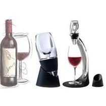 Aerador Vinho Decanter + Torre + Bolsa Para Transporte