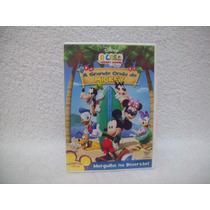 Dvd Original A Casa Do Mickey Mouse- A Grande Onda Do Mickey