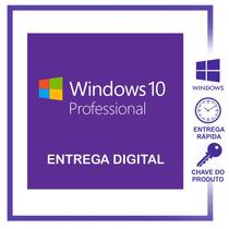 Windows 10 Profissional Pro 32 / 64 Bits - Chave Do Produto