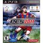 Pes 11 - Pro Evolution Soccer 2011 - Jogo Ps3