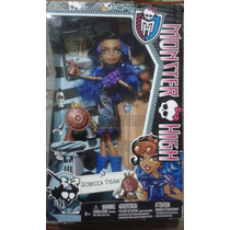 Boneca Robecca Steam Monster High Filha Do Cientista Maluco