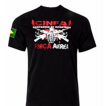 Camiseta Militar Companhia De Infantaria Aeronáutica