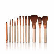 Pinceis Maquiagem Profissional - Kit 12