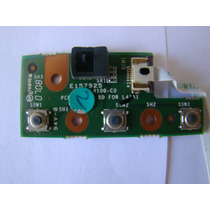 Placa Painel Botoes Notebook Cce Ncv-c5h6