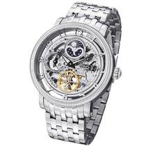 Relógio Stuhrling Original Aço Automático Grande Importado