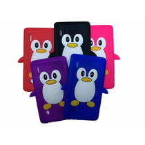 Capa Silicone Pinguim Para Tablet Multilaser M7i Slin 7 Pole