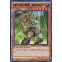 Yugioh Elemental Hero Woodsman Sdhs-en003 - Common