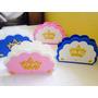 Porta Guardanapo Coroa Princesas Principe Eva 15 Unidades