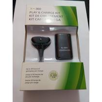 Bateria Recarregável Para Controle Xbox 360