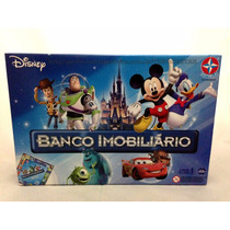 Jogo Banco Imobiliário Clássicos Disney Original Estrela