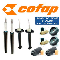 Kit 4 Amortecedor Gol Saveiro G2 G3 G4 - Cofap + Kit + Coxim