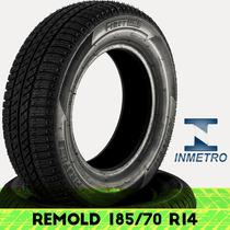 Pneu Remold Firstline 185/70 R14 Com Certificado Inmetro