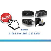 Reset Epson Almofada L100 L110 L200 L210 L355 Hoje