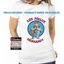 Baby Look Breaking Bad - Los Pollos Hermanos - 100 % Algodão