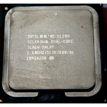 Processador Celeron Dual Core E1200 - 1.60ghz 775