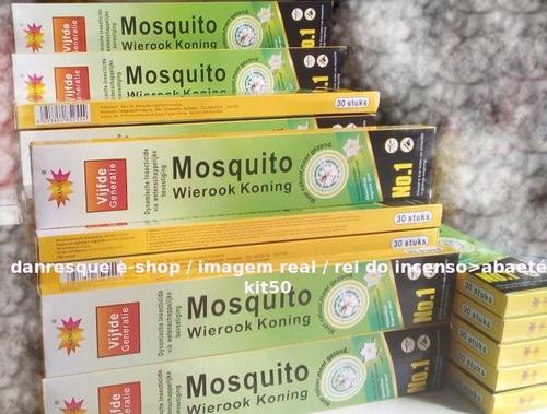 Incenso50caixas Mata Muriçoca Inseto Mosquito Promoção