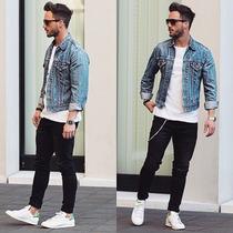 Calça Sarja Jeans Preta Premium Com Lycra Skinny Offert