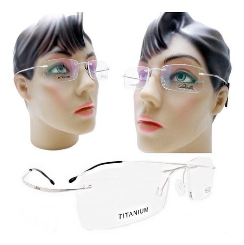 9c1a00a2c Óculos De Grau Feminino Tres Peças Armação Titanio Moda 2019. R$ 79