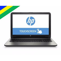 Notebook Hp Amd A8 2.5 Ghz 4gb Hd 1tb Tela Touch 15,6 Win10