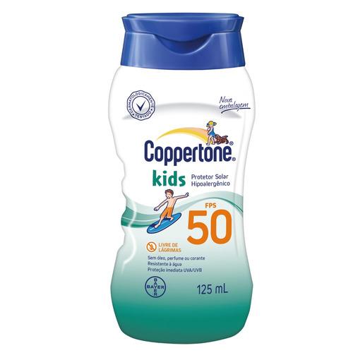 Coppertone Kids Loção Fps 50 Bayer - Protetor Solar 125ml