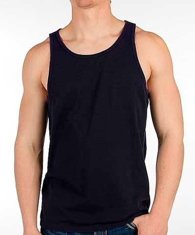 Camiseta Regata Masculina Branca preto100%algodão b3feb4fcca0