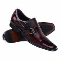 Sapato Social Couro Stilo Italiano Super Luxo Dhl Calçados