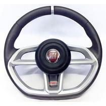 Volante Esportivo Gti Fiat Rallye Palio Uno Fire Siena +cubo