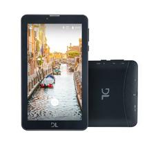 Tablet Dl Tela 7'' Preto Tx384 Dual Chip + 3g + Wi-fi