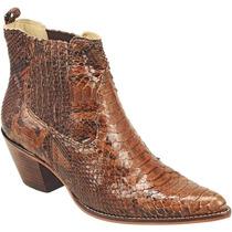 Bota Cowboy Feminina Exótica Lady Silver Linha Athenas Couro