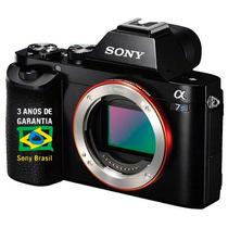 Câmera Sony A7s Ii Grava 4k [ Nota Fiscal+ 3 Anos Garantia]