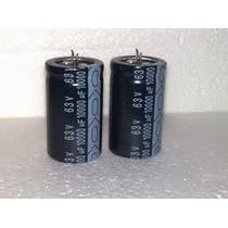 Capacitor 10.000uf X 63v - 10000 X 63v - Div. Aplicações