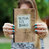 Destrua Esse Diário Livro Novo E Lacrado De Keri Smith