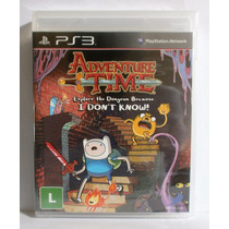 Adventure Time Jogo Infantil Ps3 - Novo Lacrado Mídia Fisica