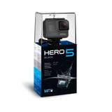 Go Pro Gopro Hero 5 Black. Lacrada Na Caixa. Envio Só Sedex
