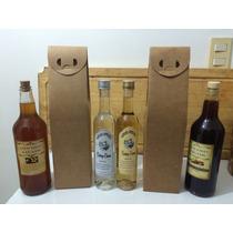 20 Caixas Para Vinho, Licor, Cachaça Em Papel Kraft 400 G