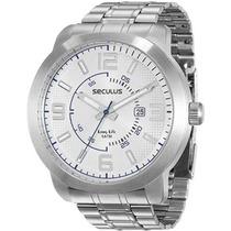 Relógio Seculus Masculino Long Life 28624g0svna1