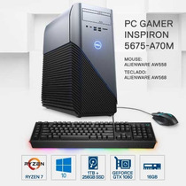 Pc Gamer Dell 5675-a70m Amd R7 16gb 1tb+256gb Gtx1060