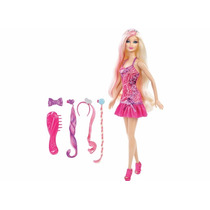 Barbie Glam Hair Acessório Cabelo Mattel