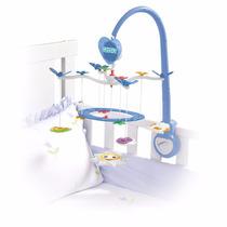 Móbile Sensorial Musical Para Berço Bebê Calesita 905