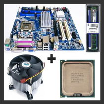 Kit Dual Core - Placa Mãe 775 + Intel E3300 2.50ghz + 2gb