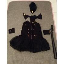 Fantasia Completa Policial Feminina