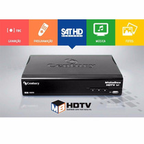 Receptor Digital Hd Century Midiabox Hdtv B2 Com Globo Hd