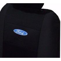 Capas De Banco Tecido Orignal Espcial Logomarca Ford Bordada