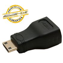 Adaptador Mini Hdmi Macho X Hdmi Femea | 1080i Tablet Gold